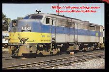 LMH Postcard  LONG ISLAND Railroad  Alco FA2  LI LIRR #601  METRO Livery 1974