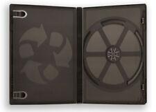 100 Stück CD / DVD Hüllen Schwarz Leerhüllen 190x135x14mm Spielehüllen