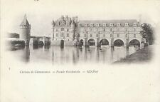 France Postcard - Chateau de Chenonceaux - Facade Occidentale - ND Phot BH249