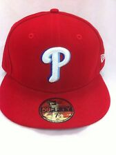 Authentic Philadelphia Phillies New Era Cap Baseball MLB Mlb Fitted 7 1/2 New