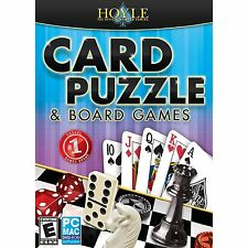 HOYLE CARD PUZZLE & BOARD GAMES 2013 WIN/MAC *NEW*