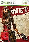 WET Microsoft Xbox 360 Software Pyramide DVD-Box Game Spiel Deutsche Ware NEU