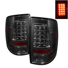 Fit Dodge 09-18 Ram 1500/2500/3500 Smoke LED Rear Tail Lights Brake Lamp Set