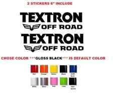 "6"" PAIR Textron Off Road ATV Decal Sticker (#710)"