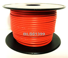 ORANGE 12V Auto Primary Wire 18 Gauge 100' ft Car Boat ATV Power Hook Up Cable