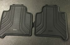BMW Genuine Rear All Weather Rubber Floor Mats Black F46 51472287863