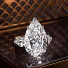 Fashion Women Jewelry 925 Silver Rings White Sapphire Wedding Gift Size 6-10