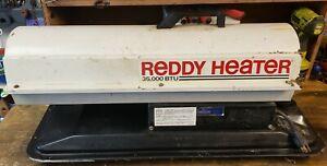 Reddy Heater 35,000 BTU Multi Fuel Kerosene / #1 Fuel Oil  Model R35A
