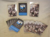 17 x lot Bauer World Invite Chicago 2013 Participant laminated Hockey tag card