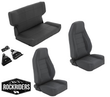 1997-2006 Jeep Wrangler TJ LJ Reclining Front and Rear Seat Combo Kit