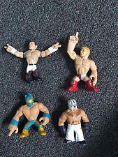 WWE RUMBLERS 4 PACK INCLUDING: EVAN BOURNE, DANIEL BRYAN, SIN CARA AND REY MYSTE
