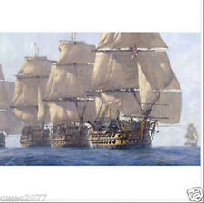 Handcrafted Ship Oil Painting on Canvas Great sailing 24 36 inch No Frame
