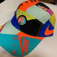 Nike X Atmos  Air Max Airmax Patchwork Light Multi Color Cap Hat Free Size