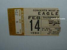 Eagles Concert Ticket Stub 1980 Oklahoma City Myriad Long Run Tour Glenn Frey