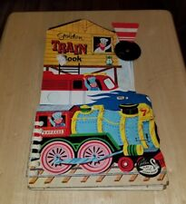 1970 Golden Play And Learn Train Book Roberta Miller William Dugan Railroad book