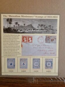 The Hawaiian Missionary Stamps of 1851-1853