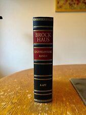 Brockhaus mit Goldschnitt in 30 Bänden Enzyklopädie Bibliothek Liebhaber