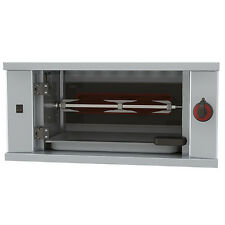 Gastronomie Gas Hähnchengrill Maschine mit Beleuchtung, 1 Spieß für 3 Hähnchen