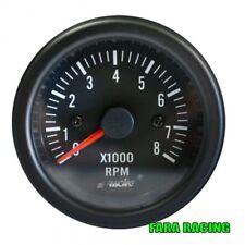 Simoni Racing TM/B Contagiri 0-8000 RPM - Black face