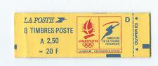 Carnet de 8 timbres oblitérés de France  à 2,50 Fr (carnet complet)