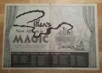 Gillan tour Magic   1982  press advert 2 page 56 x 40cm mini poster