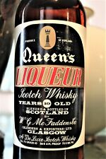 WHISKY OLD QUEEN'S LIQUEUR SCOTCH WHISKY YEARS 10 OLD cl. 75 / 43% - 86 am. Proo