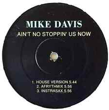 """MIKE DAVIS - Ain't No Stoppin' Us Now (12"""") (G/NM)"""