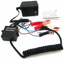 12v Volt Automatic Car Battery Float Trickle Charger Car, Boat and many More..