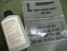 US VIETNAM ERA 1966 DATED INSECT REPELLENT LRRP SOG USMC RECON W/ CHIEU HOI BAG