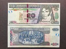 "Guatemala 20 Quetzales Bill Series 2012 ""Uncirculated"" Nice & Crisp Paper Money"