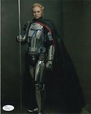 Gwendoline Christie Star Wars Autographed Signed 8x10 Photo JSA COA #M2