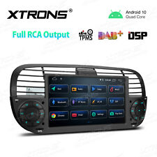 """7"""" Android 10.0 Quad-Core DSP Car Stereo Radio Head Unit for Fiat 500 2007-2015"""