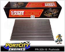 """Pushrods Set Ford V8 302 351 Cleveland Steel 8.408"""" 5/16"""" .080"""" Wall PR-309-16"""