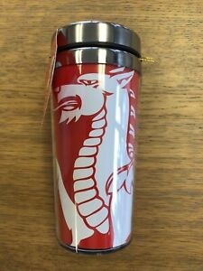 Red WALES WELSH DRAGON Travel Mug , Thermos ,  Hot Drink Holder  CYMRU WALES