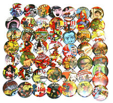 50 x RETRO COMICS CARTOON BADGES Buttons Pinbacks Bulk Wholesale Lot 32mm