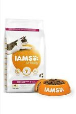 IAMS for Vitality Senior Dry Cat Food with Fresh Chicken 3 kg