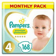 Premium Protection Monthly Pack 9-14kg (168 Nappies)