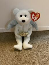 """NWT 2003 Ty Beanie Babies """"STAR"""" ANGEL Bear MInt shipped with tracking"""