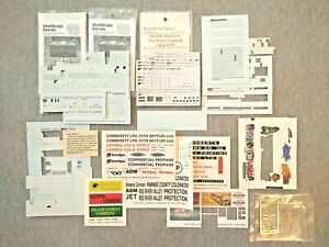 N Scale Assortment of Decals ~ TSDH