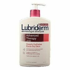New! Lubriderm Advanced Therapy Moisturizer 16 oz. Pump Bottle Scented -1 Count