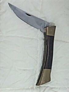 Vintage US Made BROWNING Model 4018F Large Folding Pocket Knife( 4D/21)