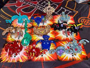 Bakugan Battle Brawlers Lot of 14 Figures Bundle Rare! #2