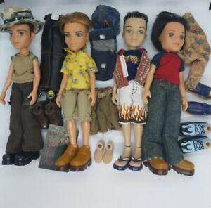 Bratz Boyz - Dolls & Clothes - Bulk Bundle. Preloved.