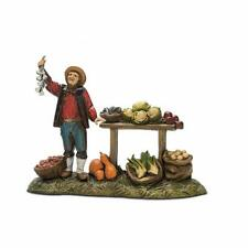"Nativity Scene Fruit Vendor Figurine for 3.5"" H Landi Presepio Figura Pesebre"