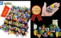 144Pcs Tomy Different Styles Pokemon Characters Collection Model 2-3cm Pokémon