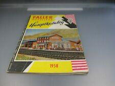 Faller: Catálogo Principal 1958 Raro (Kat1)