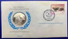 Médaille Argent massif des nations du Monde - PORTUGAL