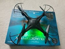Tech RC Quadcopter With Camera