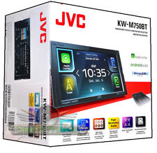 "JVC KW-M750BT 6.8"" Monitor Apple CarPlay Android Auto Receiver USB Bluetooth"