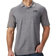 Arctic Cat Men's Relaxed Fit Nylon Polyester Blend Polo Shirt - Gray - 5303-02_